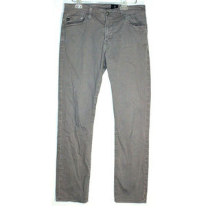AG Mens The Everett Slim Straight Light Gray Jeans